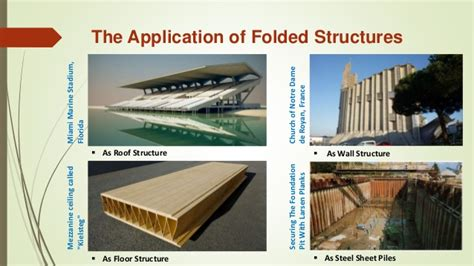 Roof Deck Plan Foundation folded plate structure