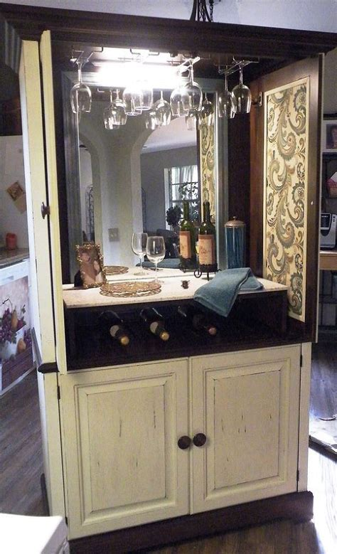 ideas  armoire bar  pinterest china