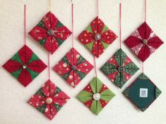 patterns for fabric christmas tree decorations how to make a cathedral window ornament with jennifer