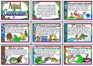 animal classification stem2014