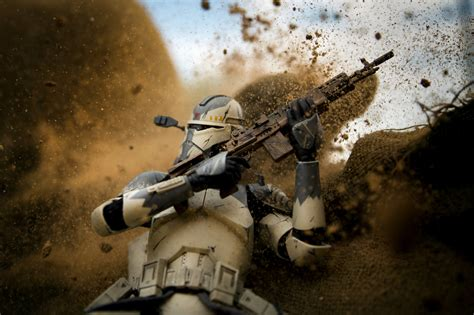 Take Clones by Wartime Photographer Depicts Clone Troopers As Real Soldiers