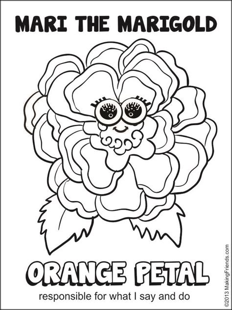 free daisy petals coloring pages