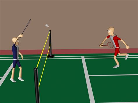 how to play with a how to play badminton better with pictures wikihow