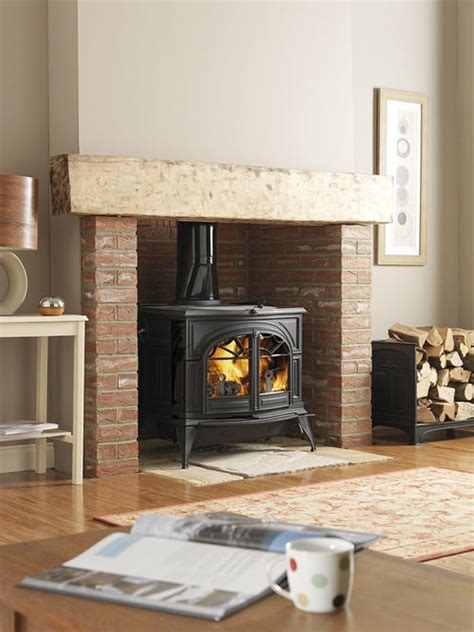 Fireplace Wood Burner by Vermont Defiant Stove