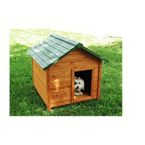 classic dog house slant roof cedar dog house large
