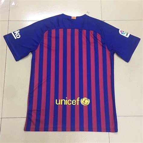 barcelona jersey 2018 barcelona 2018 19 home shirt soccer jersey