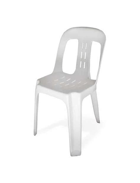 White Bistro Chair Wollongong Hire White Bistro Chair