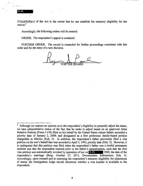 inadmissibility under section 212 bia remands of immigration judge madline garcia from 01 01