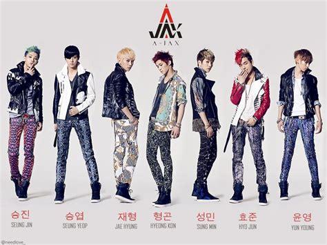 kpop group names pic of a jax band jax is a south korean boy band signed