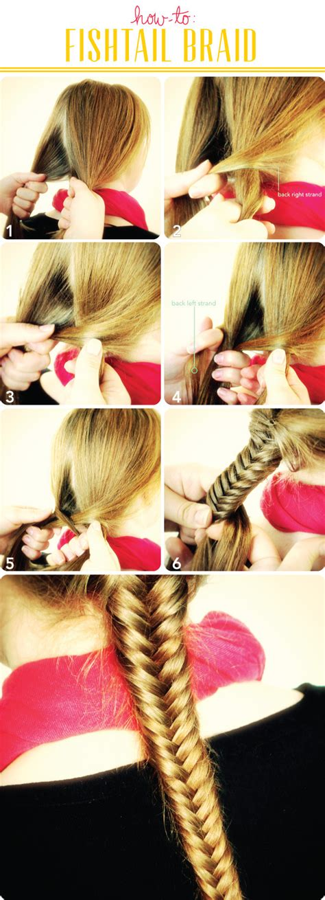 ultimate fishtail braid tutorial    guide beautylish