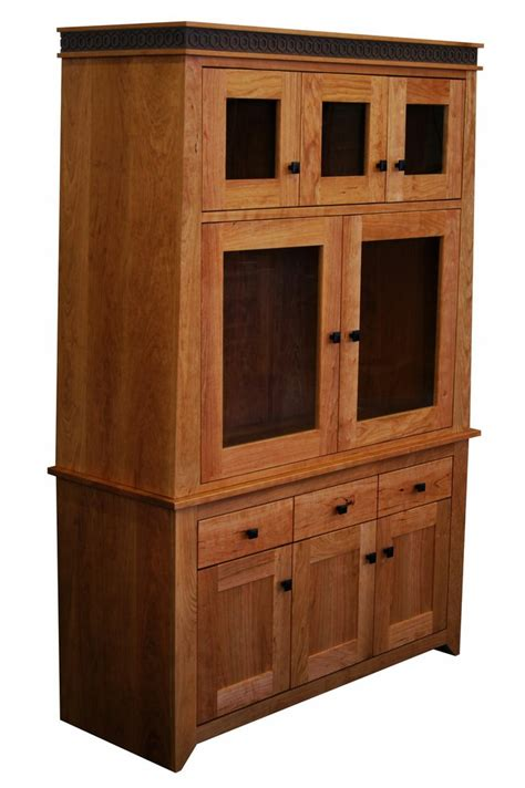 Handmade Hutches - messinger hutch solid wood handmade organic