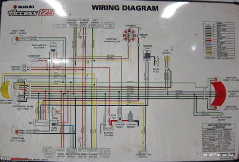 suzuki access  wiring diagram  images