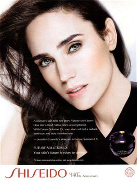 celebrity endorsed skin care products jennifer connelly actress celebrity endorsements