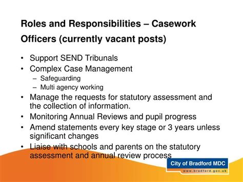 Officers Responsibilities by Ppt Senco Network Meeting Powerpoint Presentation Id 6666366