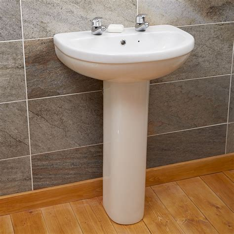 impressions 2 tap basin pedestal