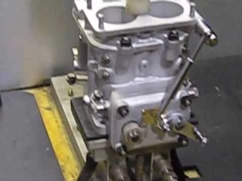 carburetor flow bench carburetor flow testing