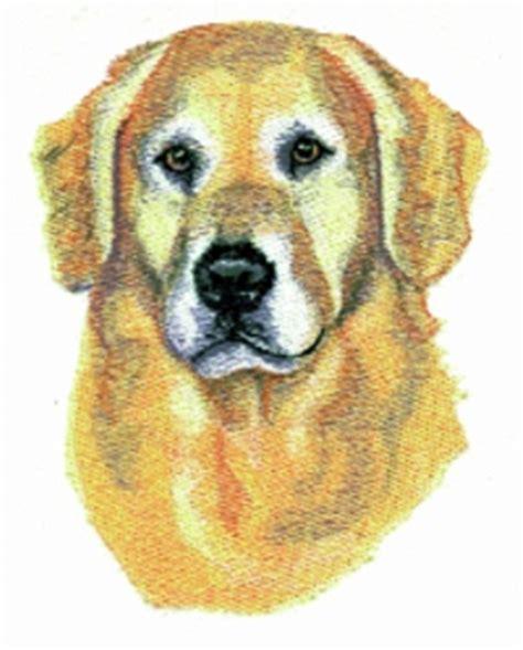 golden retriever embroidery balboa threadworks embroidery design golden retriever 3 20 inches h x 2 60 inches w