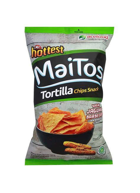 mrhottest snack tortilla chips maitos jagung barbeque pck
