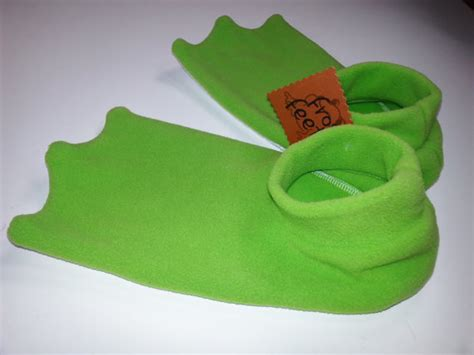 frog slippers for adults size frog slippers now in lime green