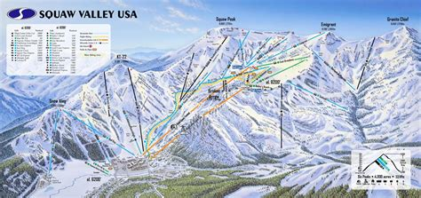 alpine mountain skimap org squaw valley and alpine trail maps ski butlers