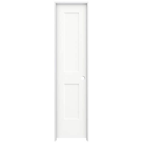 20 X 80 Interior Door Jeld Wen 20 In X 80 In Smooth 2 Panel Brilliant White Solid Molded Composite Single