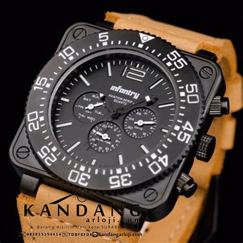 Jam Tangan Swiss Army Aviation jual infantry aviation series in 064 original