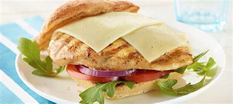 light grilled chicken recipes grilled chicken havarti sandwich recipe arla us