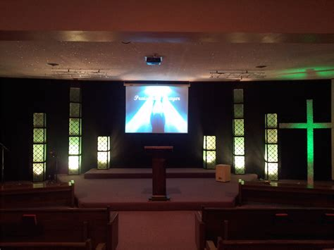 small stage lighting design small church stage design ideas the way to make church