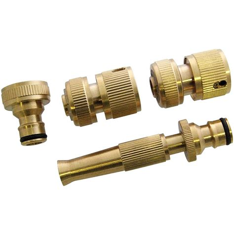 Snap On Plumbing Fittings by Brass Threaded Hose Water Pipe Tap Connectors Snap Adaptor Fitting Garden Tools Ebay