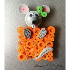 quilling mouse tutorial quilling little mouse and cheese click on image to see