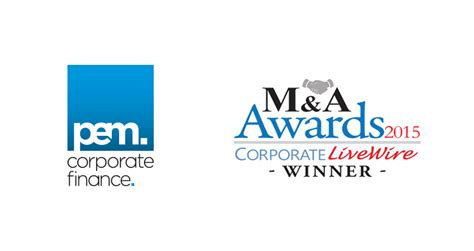 deals corporate livewire corporate livewire pem corporate finance recognised for their excellence in