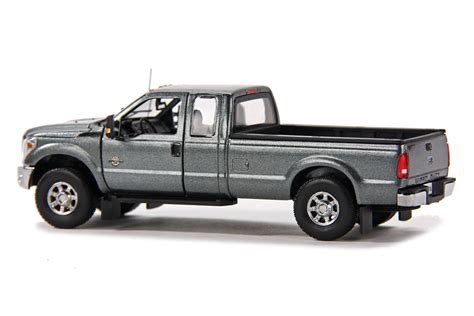 truck bed cab ford f250 pickup truck w super cab 8ft bed gray dhs