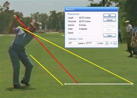 shoulder plane golf swing sam snead shoulder plane golf instruction online forum