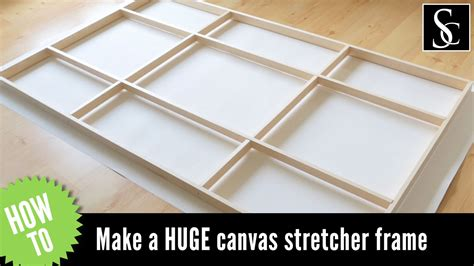 how to frame a print how to make a canvas stretcher frame and how to mount the