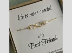 Best Friends Bracelet, Infinity Bracelet, Best friend Gift, Birthday