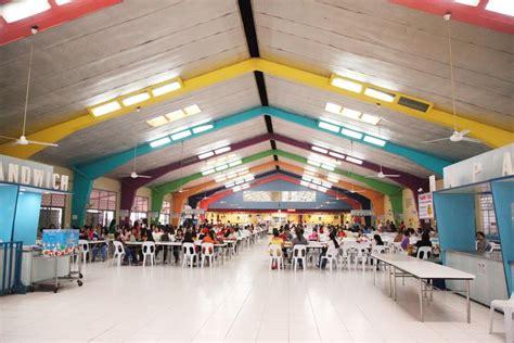 spacious canteen  school interior design ideas