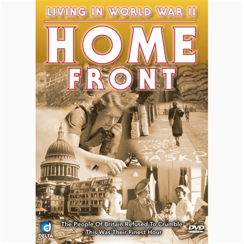 living in world war ii home front