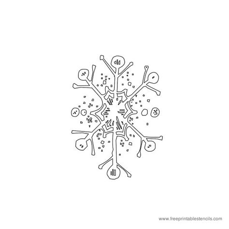 printable christmas decorations snowflakes christmas decorative stencils angels ornaments free