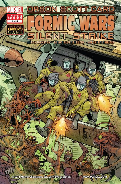 the silent war volume 1 books formic wars silent strike vol 1 1 marvel comics database