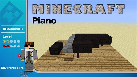 create a building minecraft piano tutorial build kit youtube