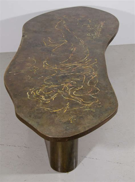 how to place a coffee table with reclining sofa laverne bronze coffee table with reclining figure