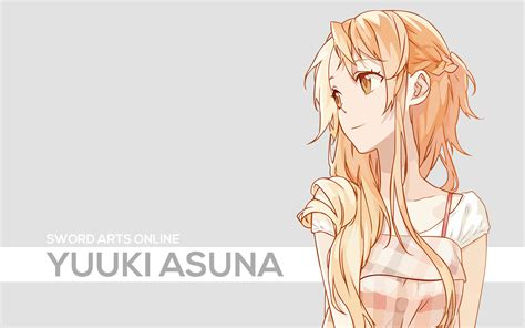anime girl brown hair wallpaper brown hair sword art online yuuki asuna wallpaper