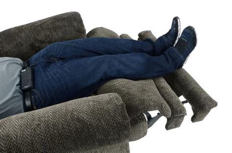 man in recliner catnapper malone extra wide big man s comfort power lay