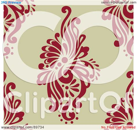 Tina Industrial Version 10 User License Standard royalty free rf clipart illustration of a seamless swirl pattern background version 10 by