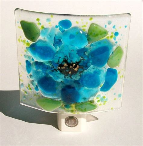 fused glass night lights 94 best fused glass night lights images on pinterest