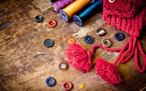 cool wallpaper thread photography artistic color buttons objects abstract yarn