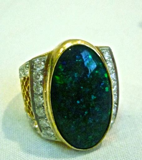 Handmade Opal Rings - ring opal handmade jewelry sale75 savings money in