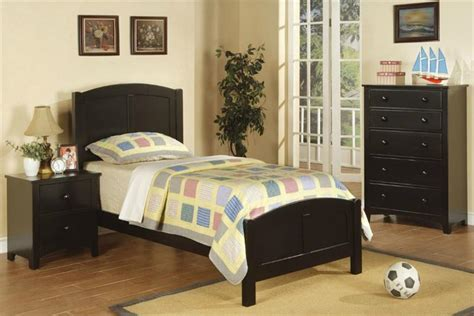 twin bedroom furniture set black twin bedroom set f9208