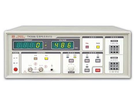 capacitor leakage meter tonghui th2686 electrolytic capacitor leakage current meter