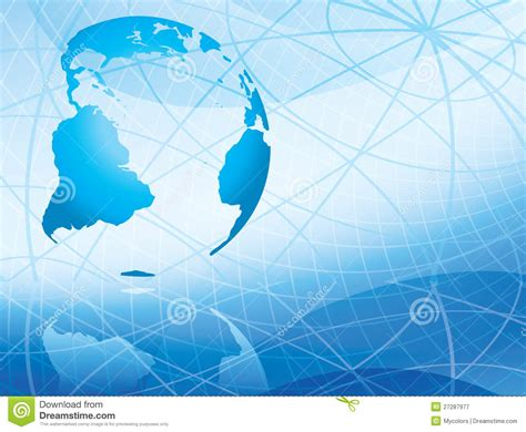 light abstract vector background with continents royalty